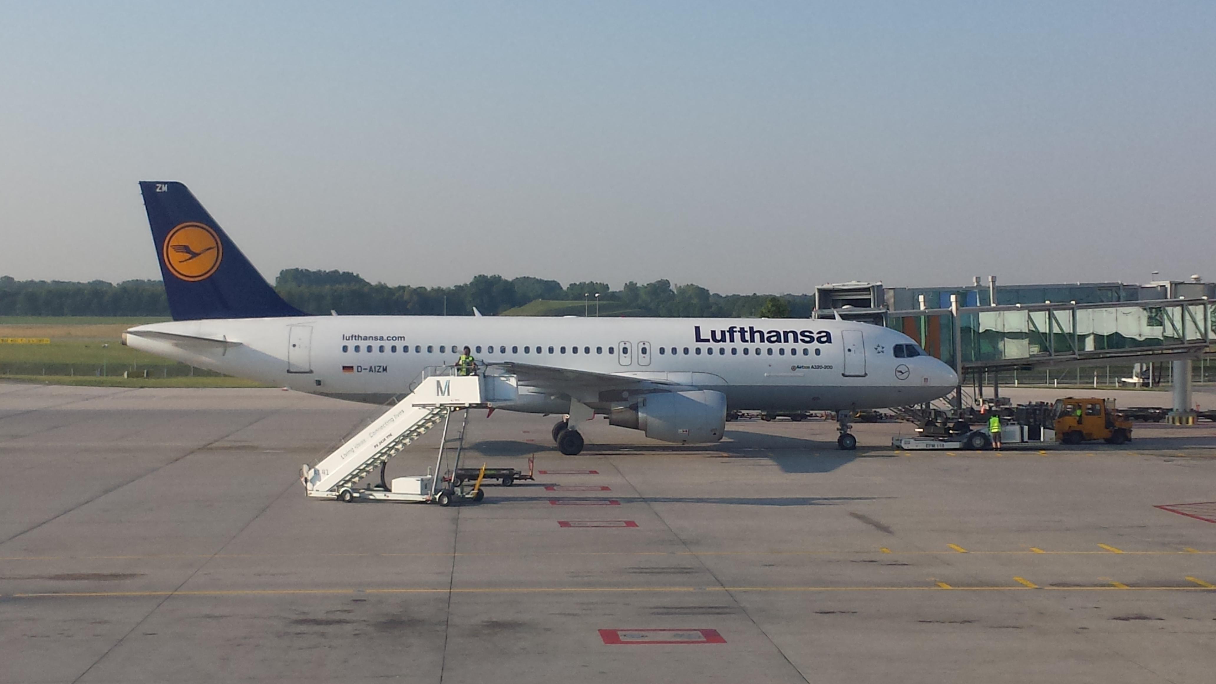 Lufthansa Boeing 737 Munich