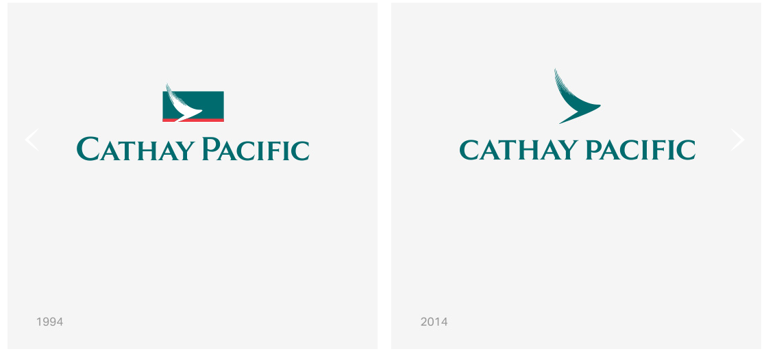 Cathay Pacific New Branding