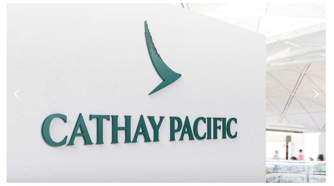 Cathay Pacific Airways New Logo