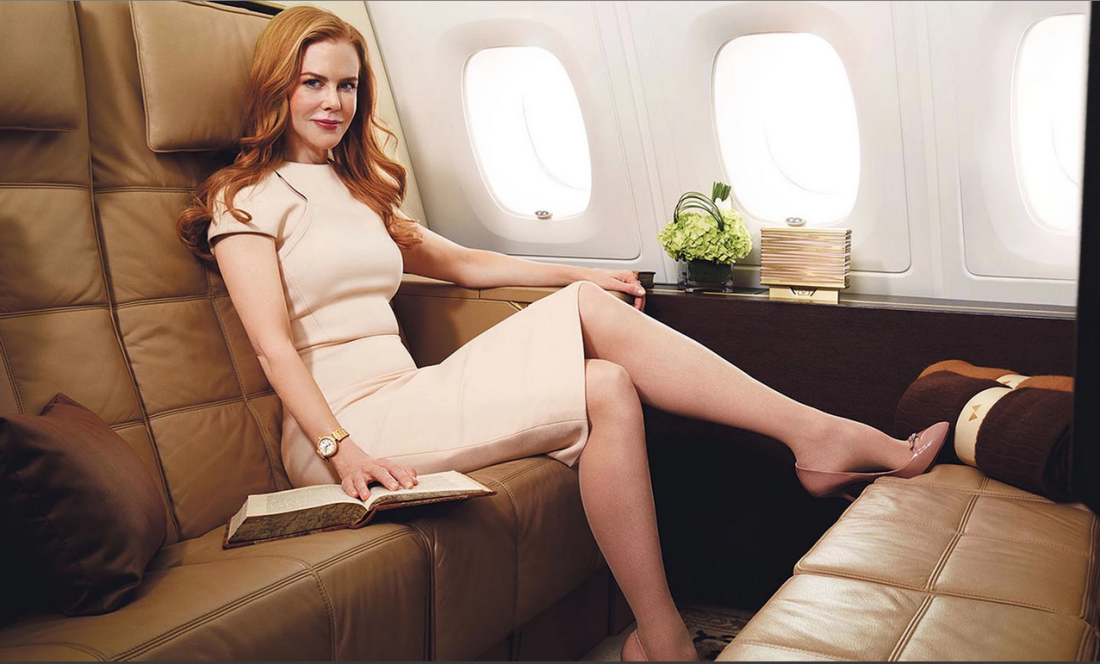 Etihad Airways First Apartment Branding featuring Nicole Kidman
