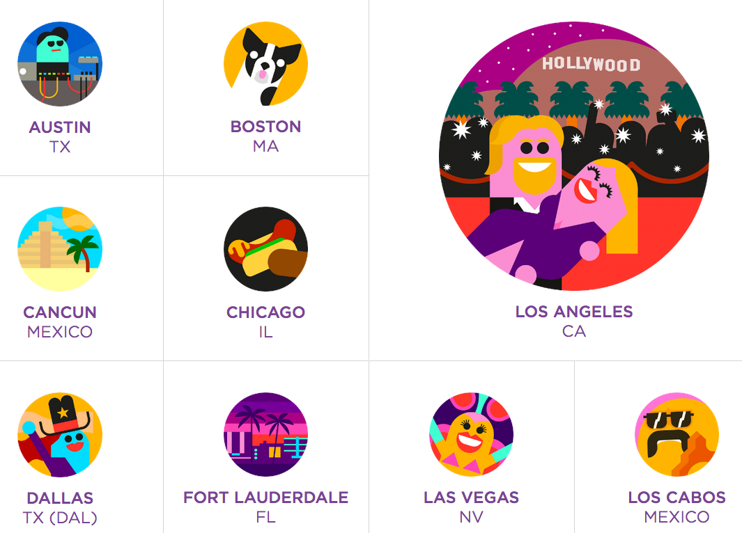 Image taken from Virgin America's website on November 20, 2014 (All Rights Reserved)