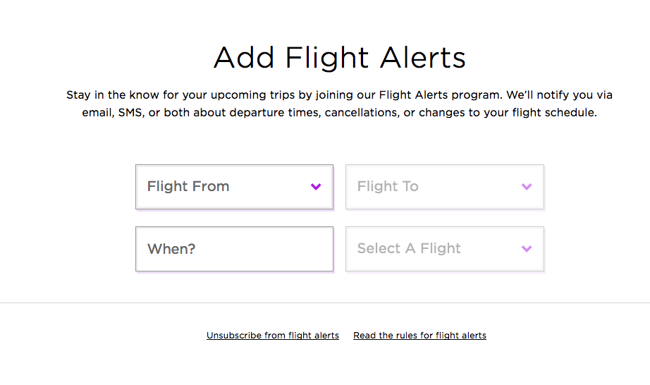 Image taken from Virgin America's website on November 25, 2014. (All Rights Reserved)