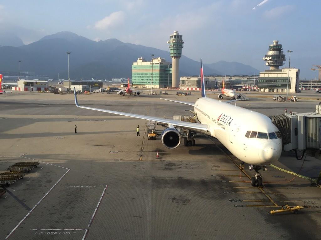 Delta Air Lines Hong Kong to Tokyo Narita