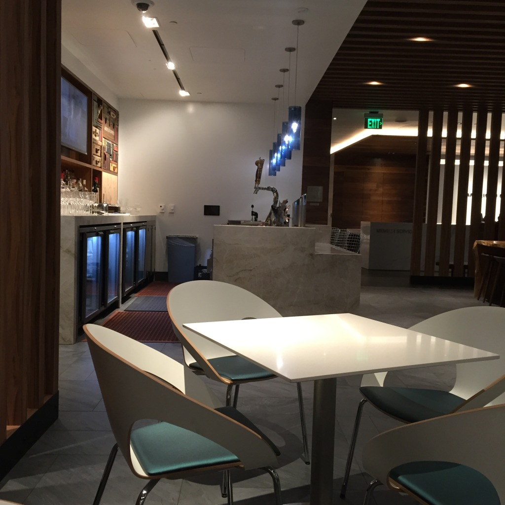 American Express Centurion Lounge Picture in San Francisco