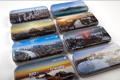United Airlines 2015 Special Edition Amenity Tins