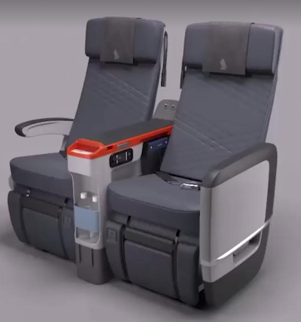 Singapore Airlines New Premium Economy Seat