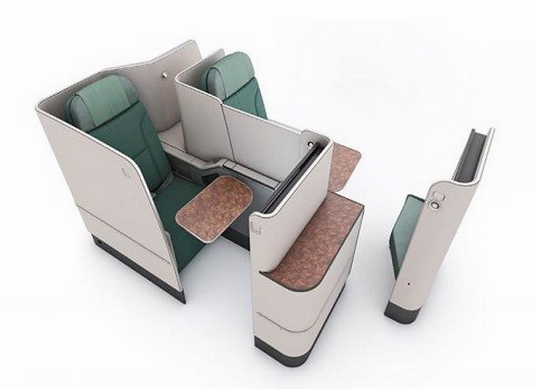 Korean Air Lines new Prestige Suite (Business Class)