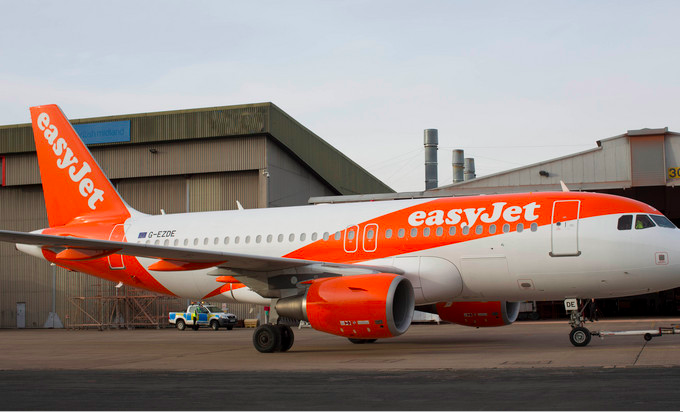 New easyJet Airbus livery