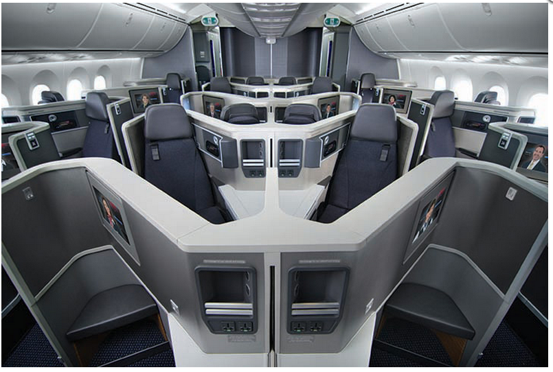 American Airlines Boeing 787-8 Business
