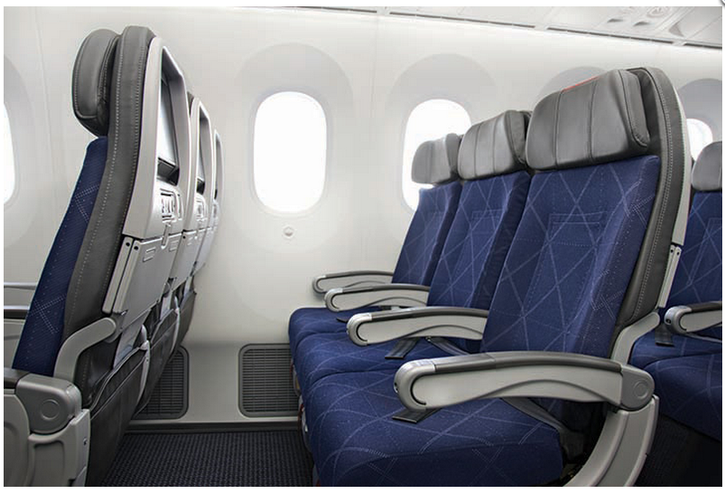 American Airlines Boeing 787-8 Economy