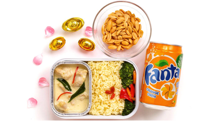 Air Asia Chinese New Year 2015 Inflight Food