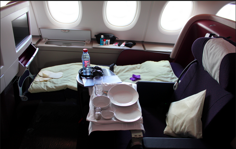 Malaysia Airlines Airbus A380 Business Class