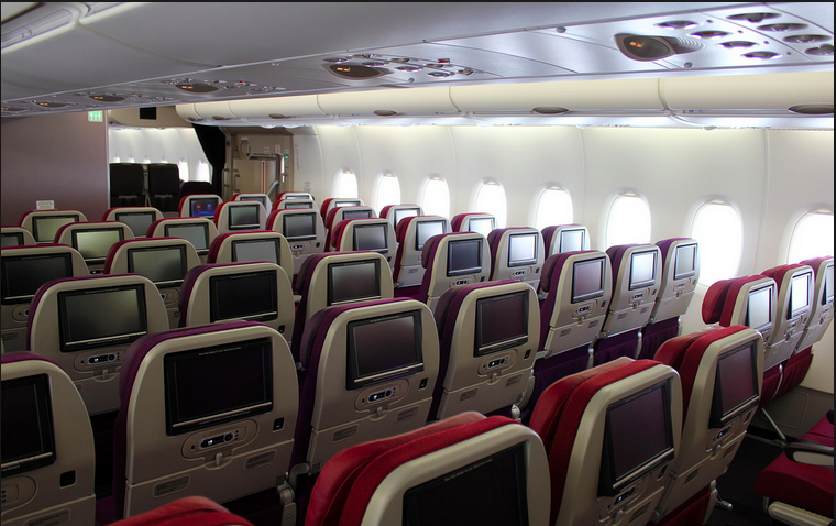 Malaysia Airlines Airbus A380 Economy Class