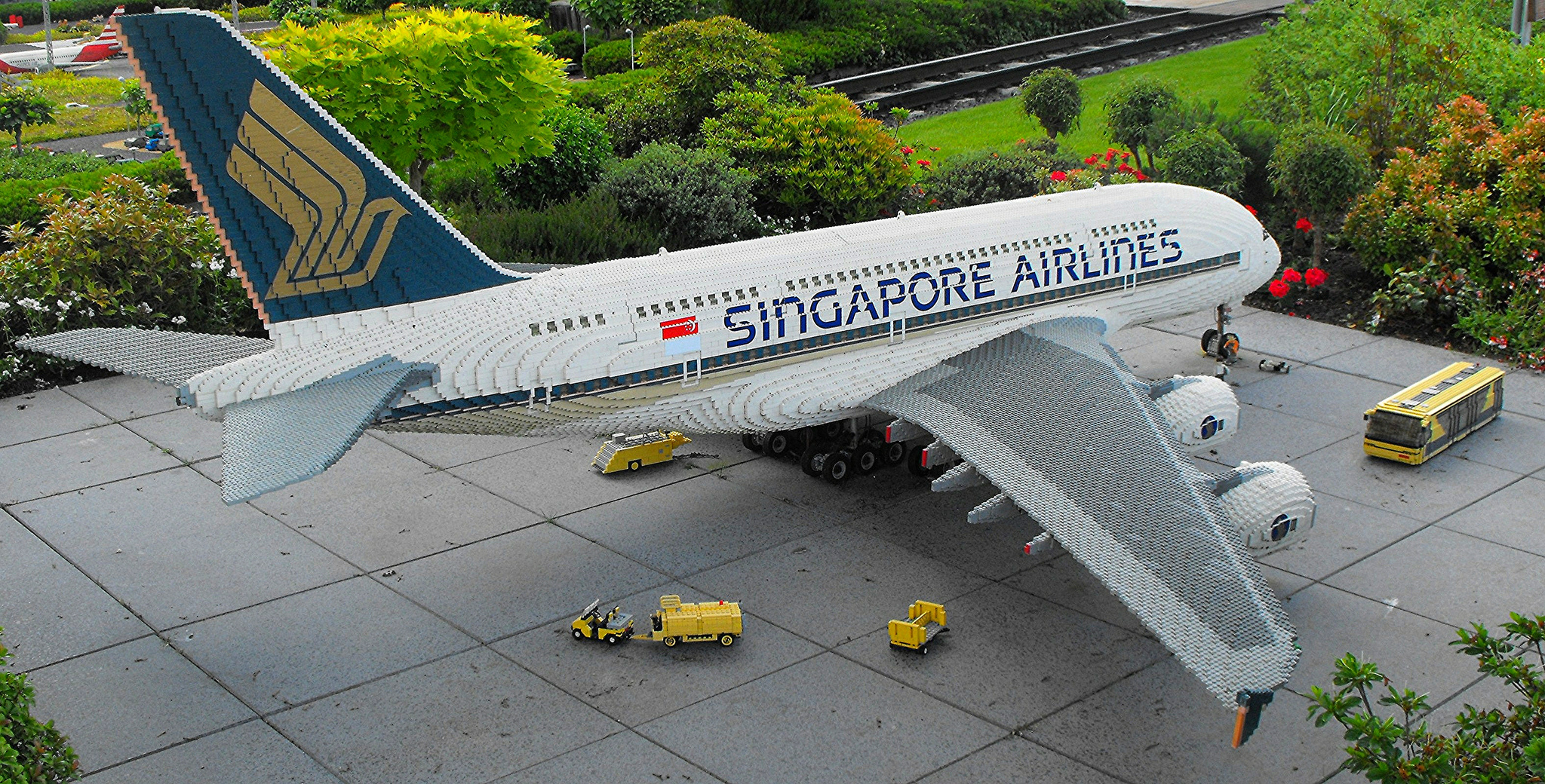 Singapore Airlines Lego Airbus A380