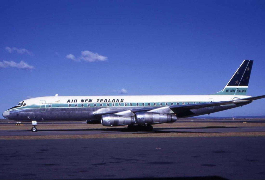 Air New Zealand Douglas DC-8 1960