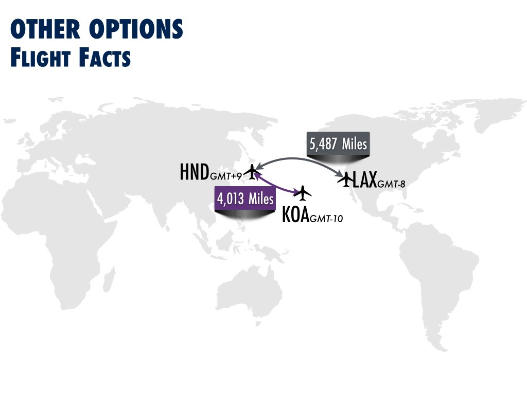 DL Seattle to Tokyo Haneda Option Alternatives