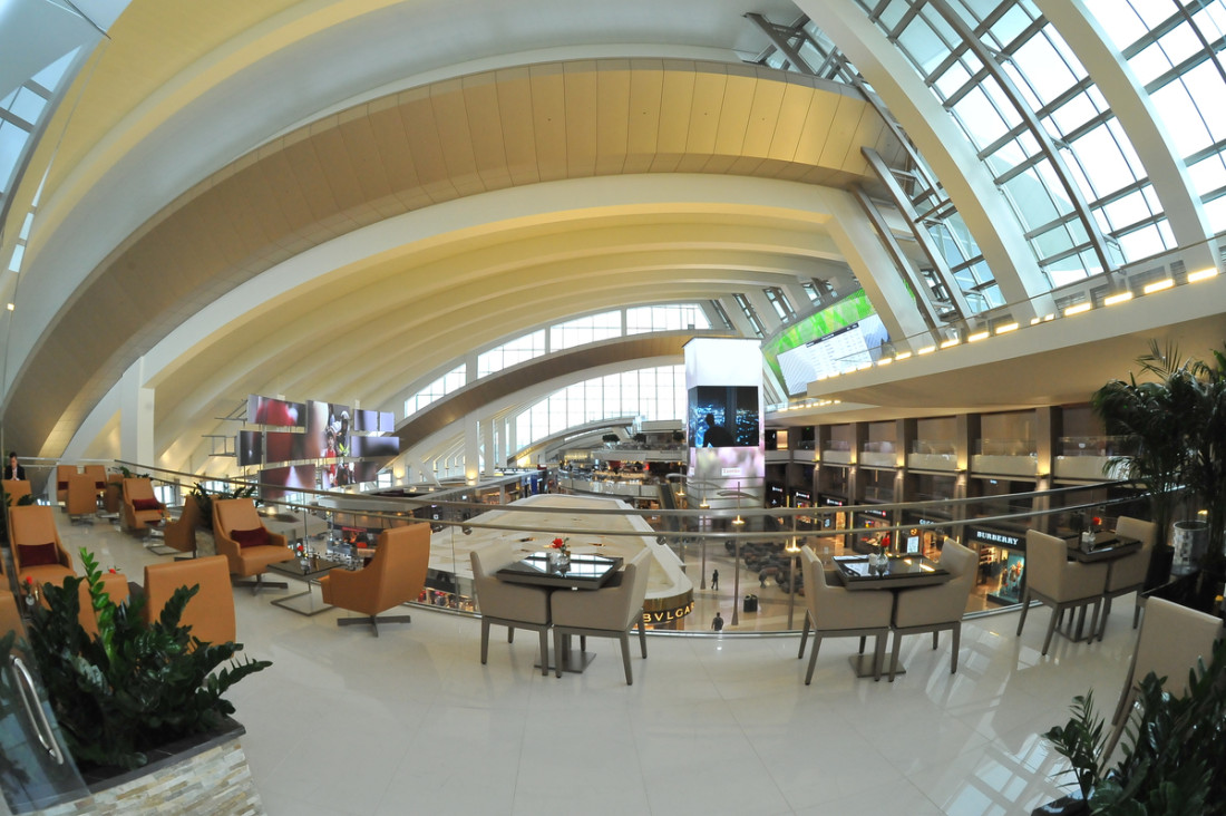 EMIRATES LAX (Los Angeles) Lounge