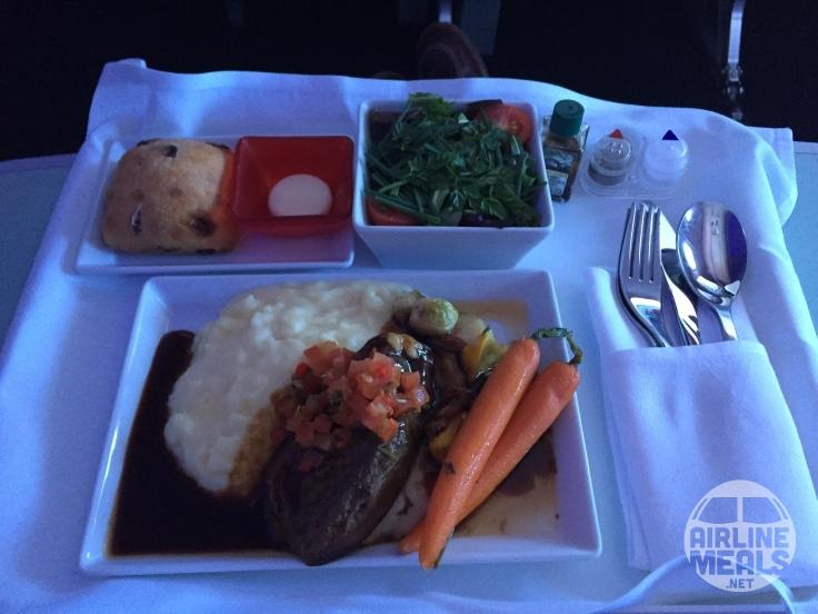 First Class Food on Virgin America