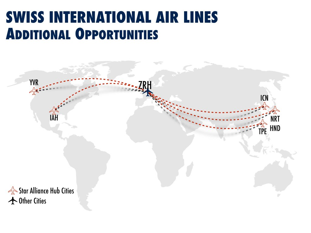 Future Route Opportunities with the Boeing 777-300ER SWISS