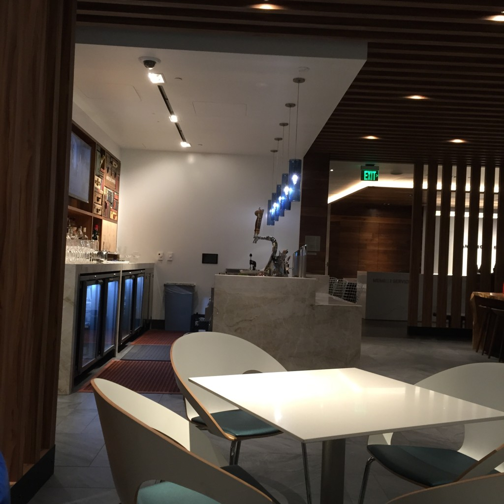 AMEX Centurion Lounge San Francisco