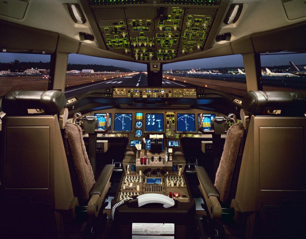 Boeing 777-300ER Cockpit Longest Flights