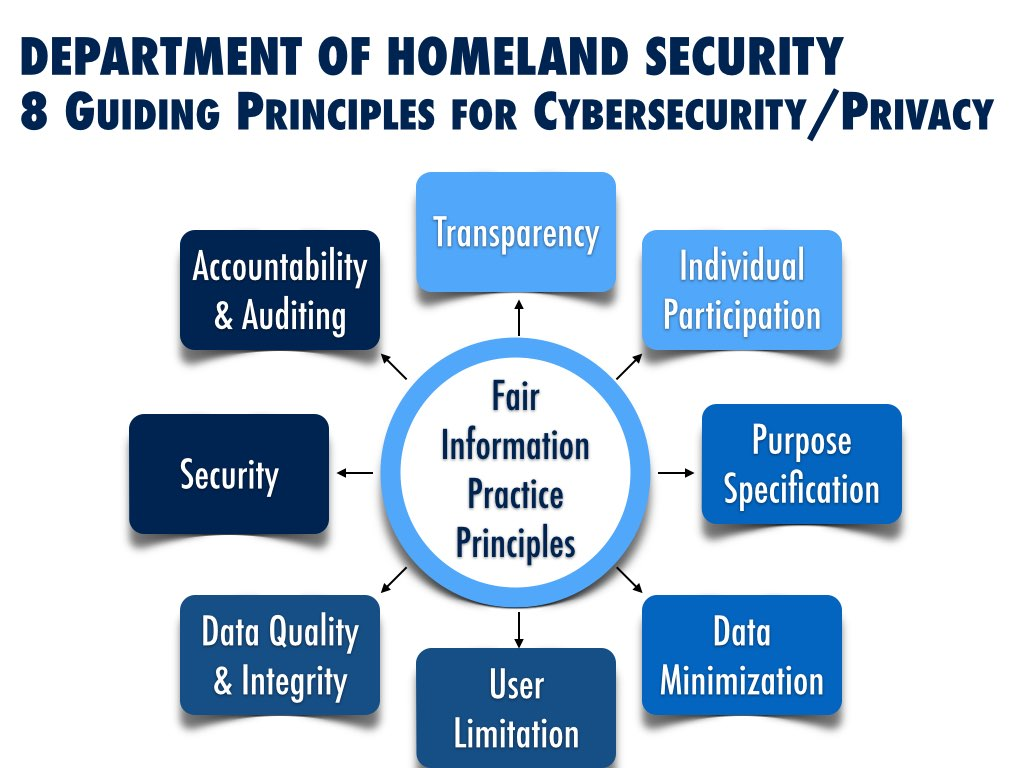 Department of Homeland Security (Guiding Principles on Cybersecurity and Privacy)