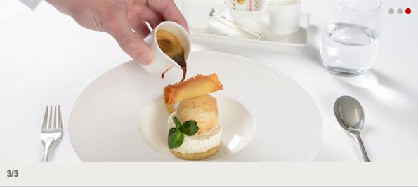 SWISS First Class Meal Service (Spring 2015)