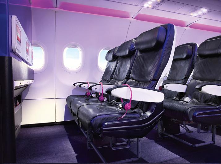 Virgin America main-cabin-select