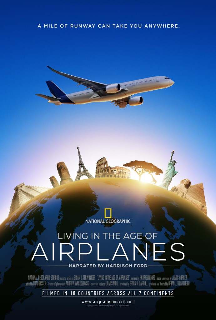 Living in the Age of Airplanes Movie Poster