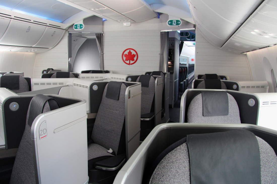 B787 International Business Class