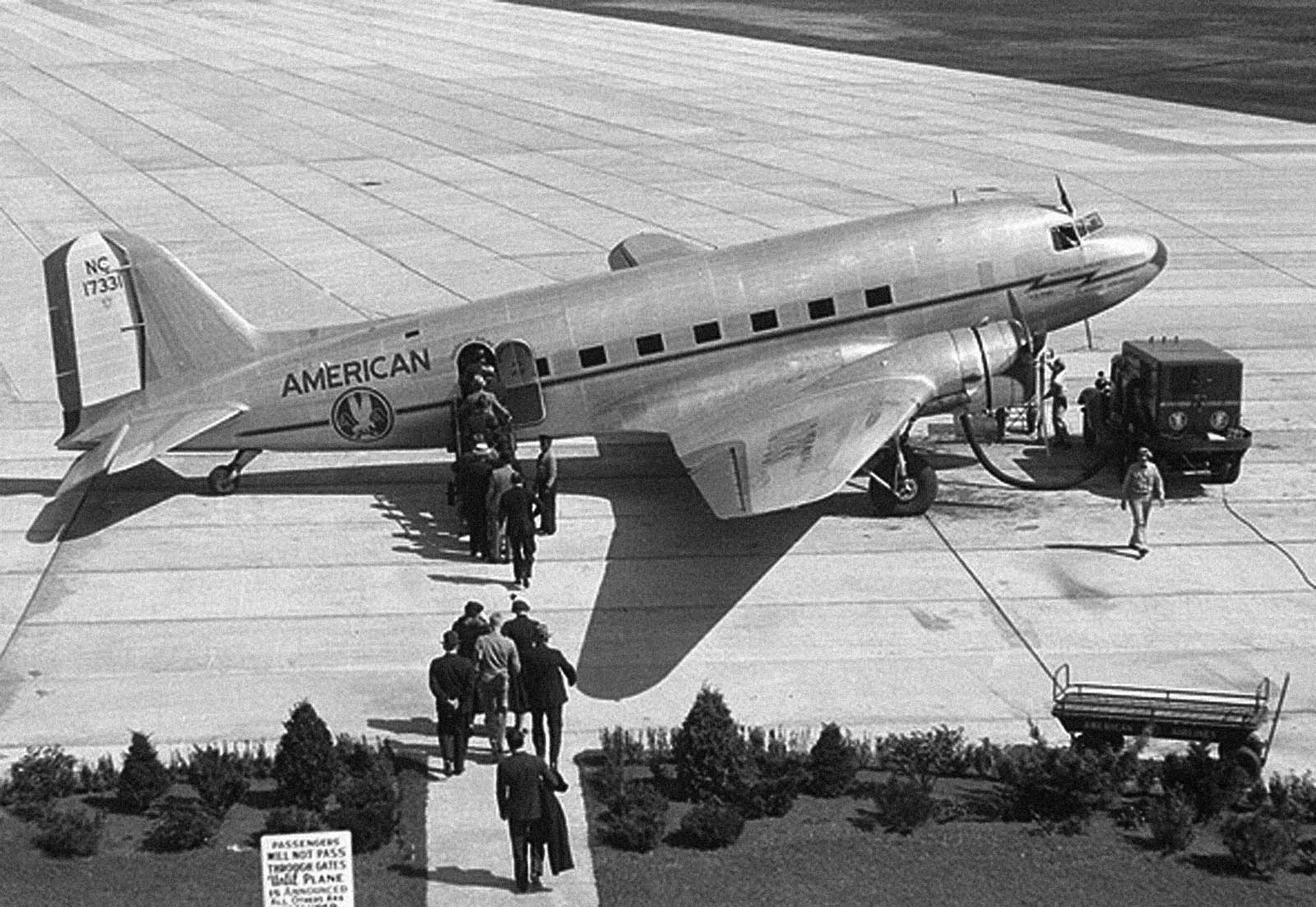 American Airlines DC3