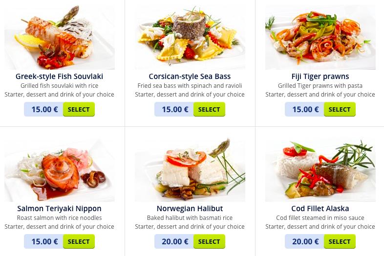 airBaltics Enhanced Economy Meals