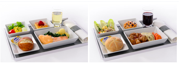 Sample Brussels Airlines Enhanced Economy Meals