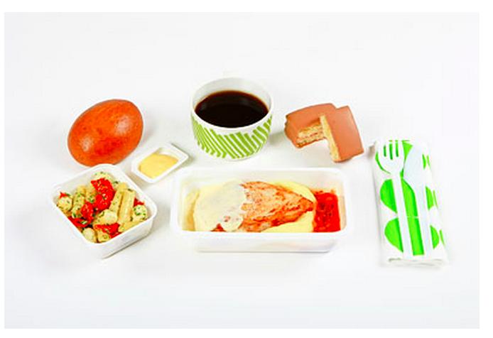 Sample FINNAIR Enhanced Economy Meals