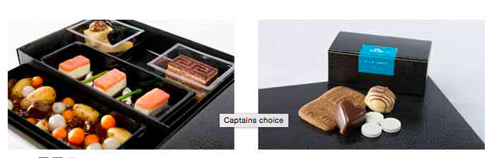 Sample KLM Enhanced Economy Meals