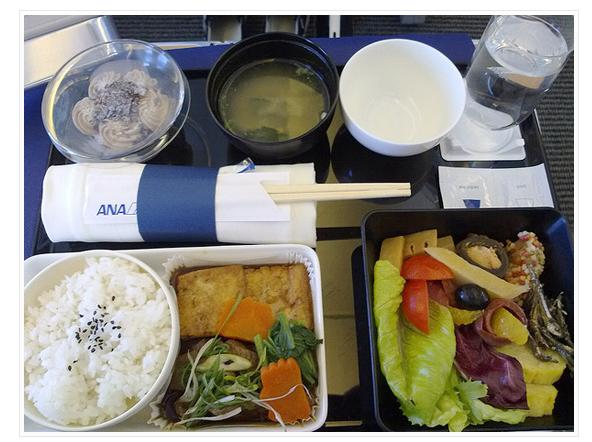 Sample ANA Enhanced Economy Meal