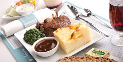 Aer Lingus Enhanced Meal Service (Steak)