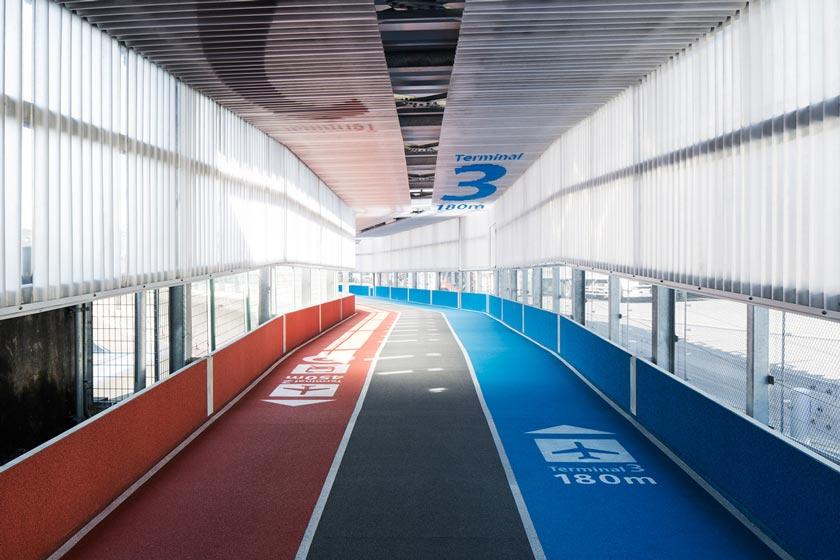 Narita T3 walkway