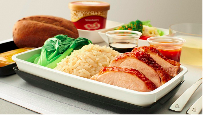 Singapore Airlines New Premium Product - Meal