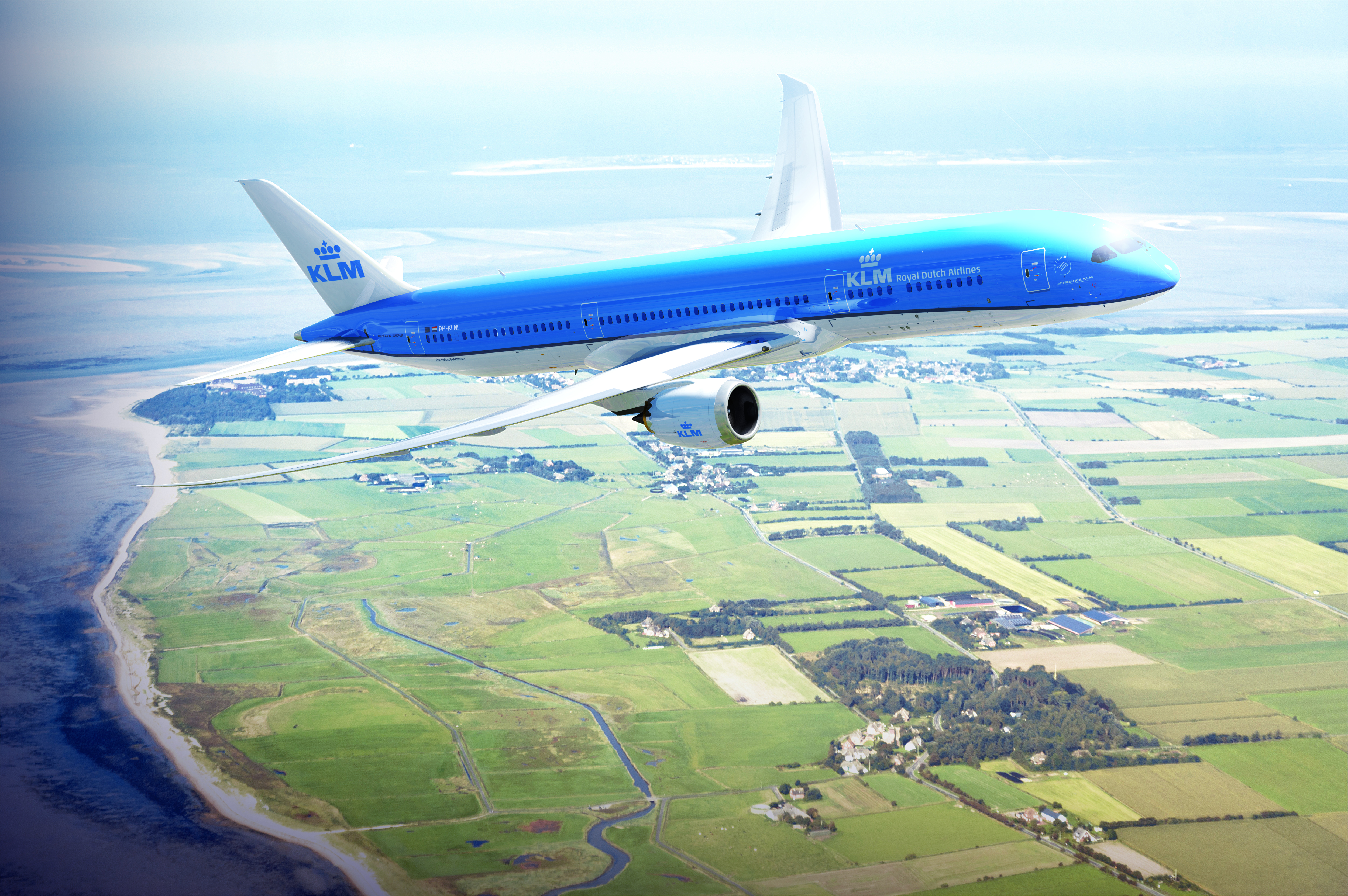 KLM Boeing 787-9 Aircraft