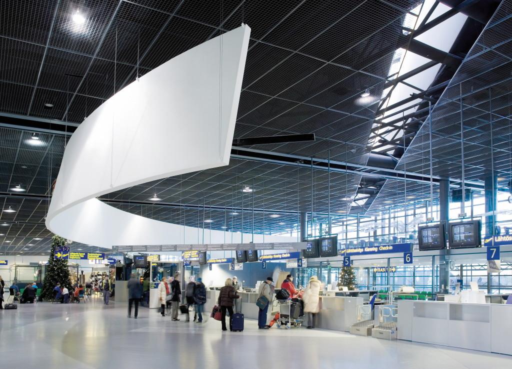 Rovaniemi Airport - Check In Area