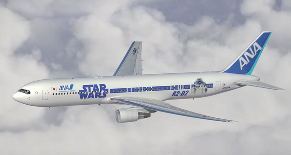 Star Wars ANA JET