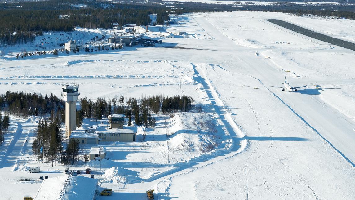 Rovaniemi Airport - Runway