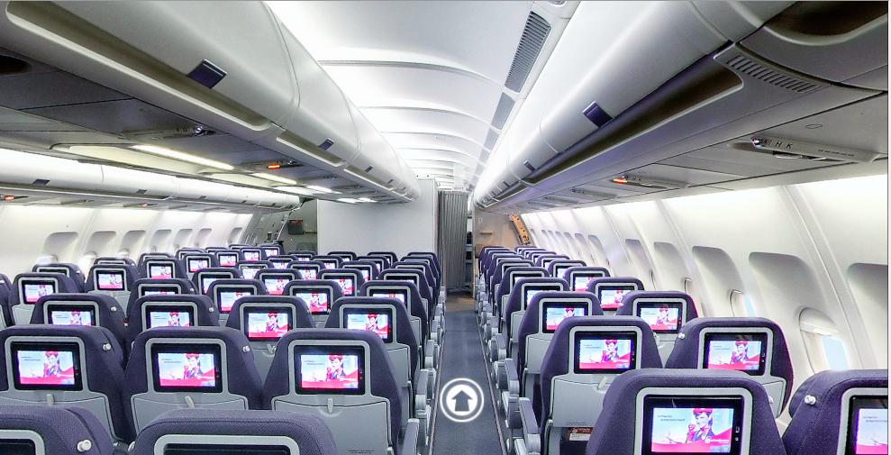 Air Berlin Economy Class