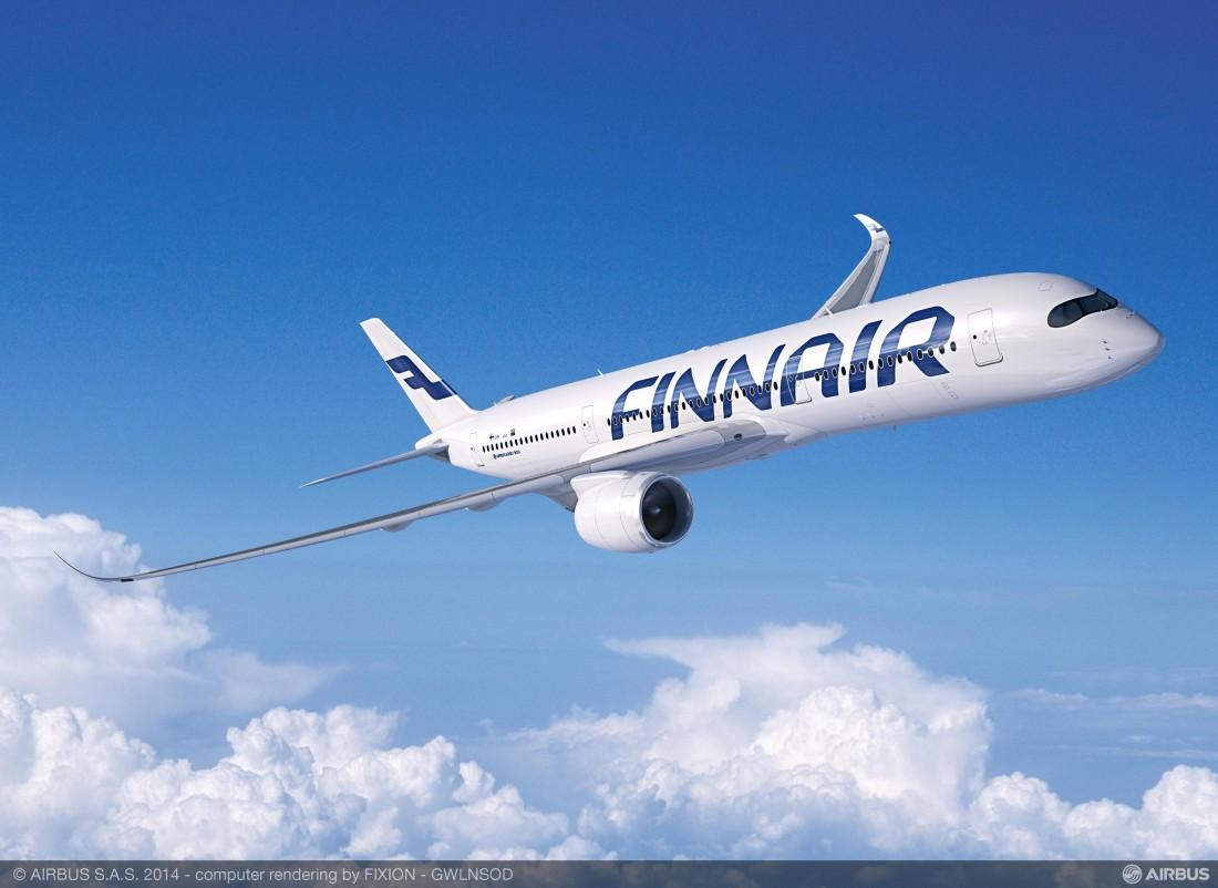 Airbus A350-900 Finnair Livery