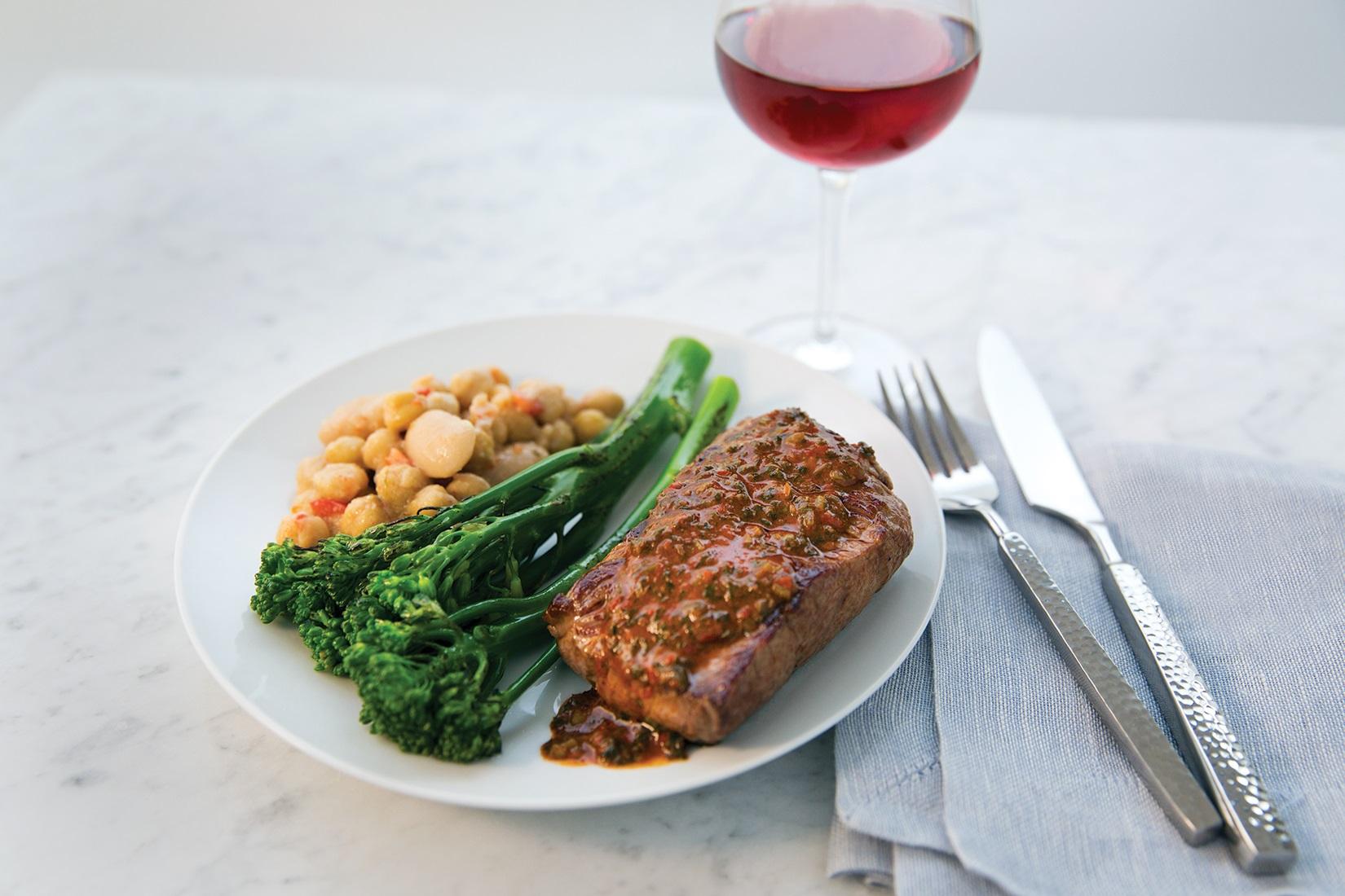 Premium Service (Flat-Iron Steak) Fall 2015