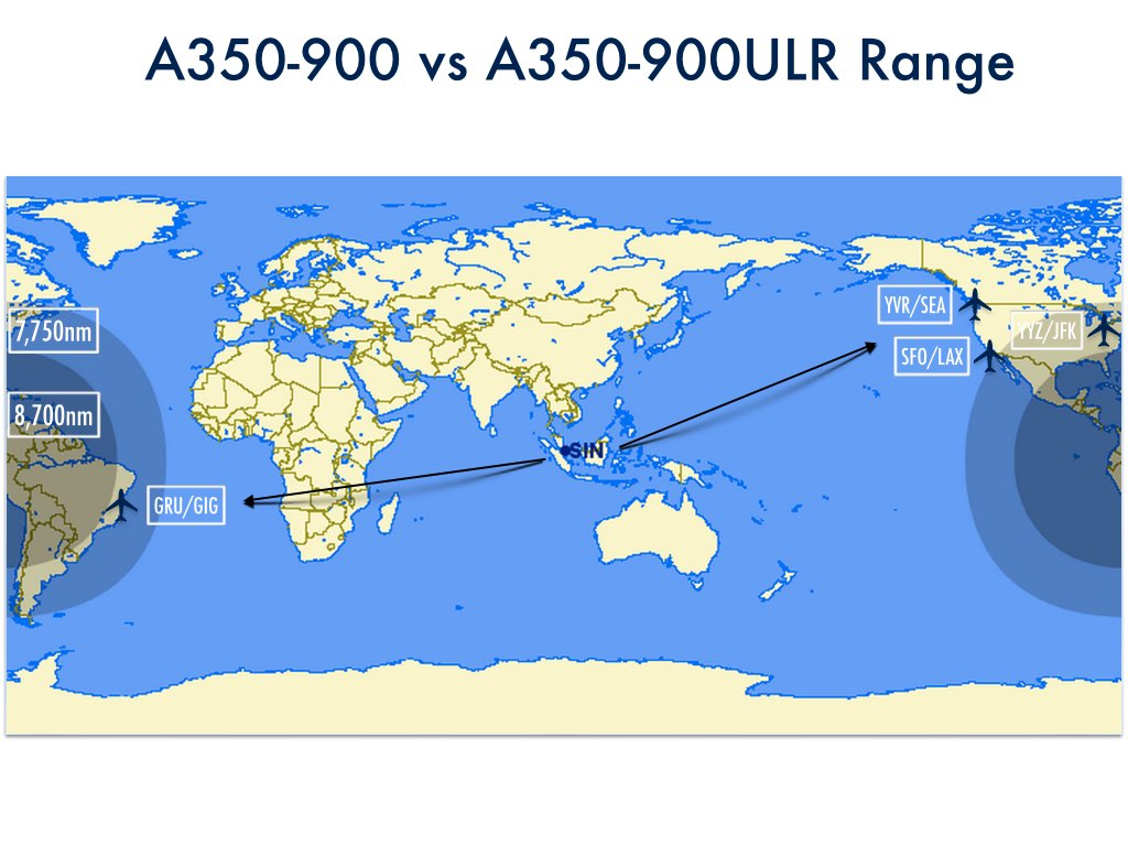 Airbus adds new A350-900 variant for Singapore Airlines ...