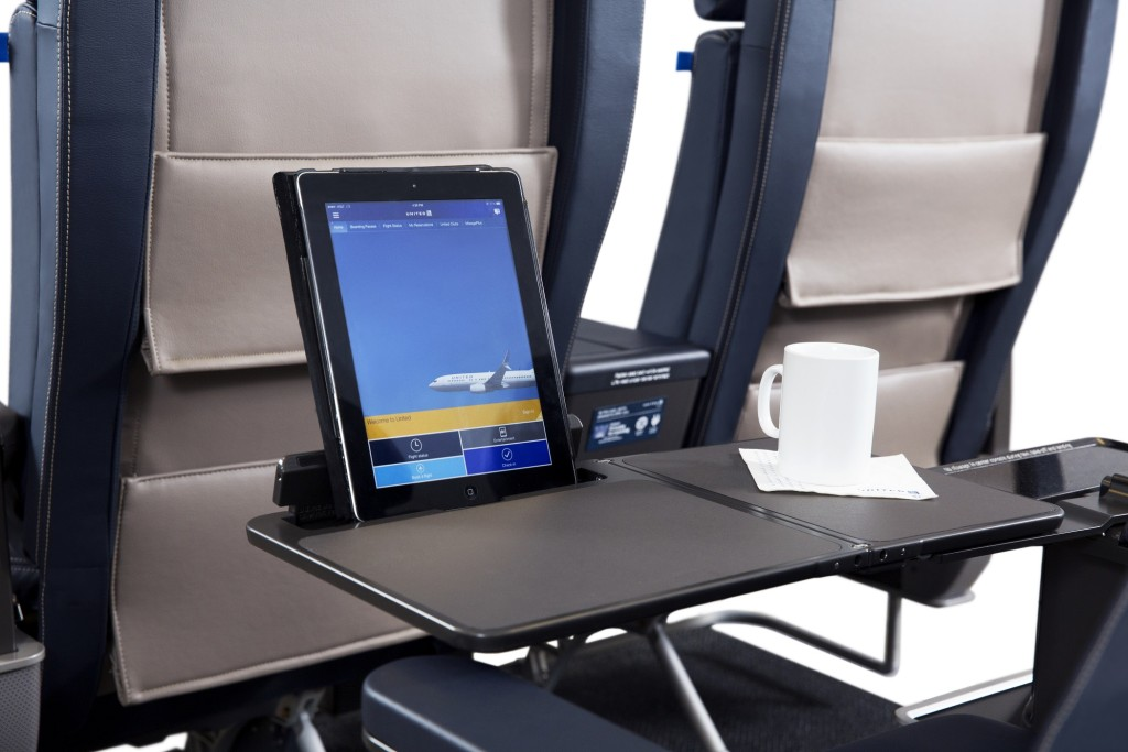 United First New Domestic Seat Tablet Holder