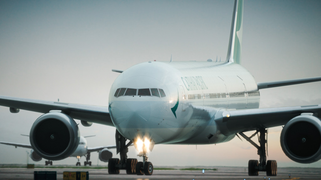 Cathay Pacific Boeing 777-300ER With New Livery
