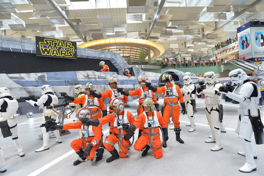 Star Wars at Changi Airport